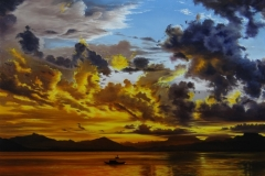 pintura-por-do-sol-artista-elton-brunetti