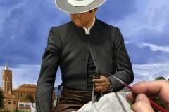 Pintura-de-Andaluzia-Espanha-com-cavalos-e-touro-por-Elton-Brunetti-image-04