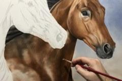 Pintura-em-tela-de-tres-cavalos-por-Elton-Brunetti-foto-2