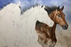 Pintura-em-tela-de-tres-cavalos-por-Elton-Brunetti-foto-3