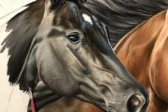 Pintura-em-tela-de-tres-cavalos-por-Elton-Brunetti-foto-4