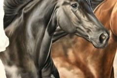 Pintura-em-tela-de-tres-cavalos-por-Elton-Brunetti-foto-5