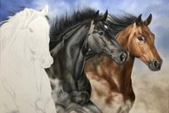 Pintura-em-tela-de-tres-cavalos-por-Elton-Brunetti-foto-6