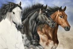 Pintura-em-tela-de-tres-cavalos-por-Elton-Brunetti-foto-8