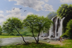 pintura-cachoeira-artista-elton-brunetti