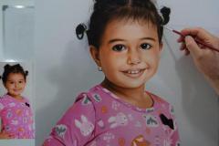 pintura-de-retrato-infantil-feminino-por-Elton-Brunetti
