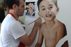 pintura-de-retrato-infantil-masculino-por-Elton-Brunetti