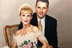pintura-de-um-casal-de-noivos-por-Elton-Brunetti-