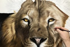 tela-1-pintura-de-um-leao-curso-de-desenho-e-pintura-de-felinos-Elton-Brunetti-img-05