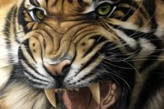 Pintura-de-um-tigre-por-Elton-Brunetti