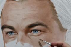 Pintura-de-Leonardo-DiCaprio-por-elton-Brunetti-01