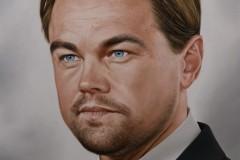 Pintura-de-Leonardo-DiCaprio-por-elton-Brunetti
