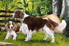 tela-7-caes-curso-pintura-avancado-elton-brunetti
