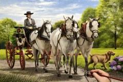 Pintura-de-carruagem-com-cavalos-por-Elton-Brunetti-1
