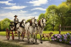 Pintura-de-carruagem-com-cavalos-por-Elton-Brunetti