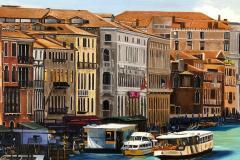 Pintura-de-Veneza-por-Elton-Brunetti-