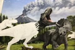 Pintura-Tiranossauro-e-Triceratops-por-Elton-Brunetti-06