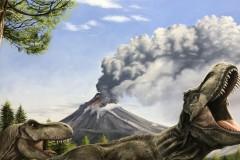Pintura-Tiranossauro-e-Triceratops-por-Elton-Brunetti-07