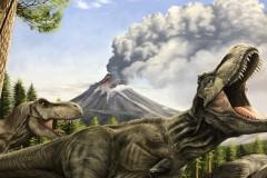 Pintura-Tiranossauro-e-Triceratops-por-Elton-Brunetti-10