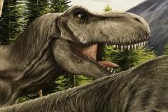 Pintura-Tiranossauro-e-Triceratops-por-Elton-Brunetti-11