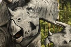 Pintura-Tiranossauro-e-Triceratops-por-Elton-Brunetti-12