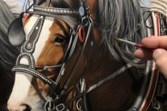 Pintura-cavalos-Clydesdales-arando-a-terra-por-Elton-Brunetti-4