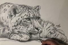 Pintura-tela-Leopardo-das-Neves-por-Elton-Brunetti-01