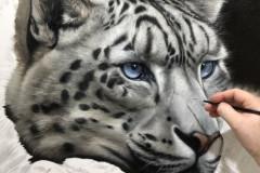Pintura-tela-Leopardo-das-Neves-por-Elton-Brunetti-03