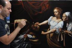 estudo-pintura-caravaggio-Judite-e-Holofernes-02