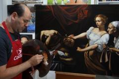 estudo-pintura-caravaggio-Judite-e-Holofernes-03