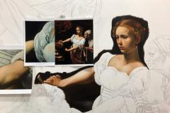 estudo-pintura-caravaggio-Judite-e-Holofernes-04