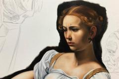 estudo-pintura-caravaggio-Judite-e-Holofernes-07