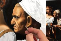 estudo-pintura-caravaggio-Judite-e-Holofernes-09