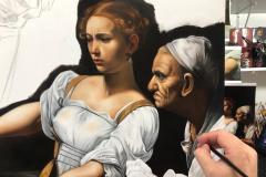 estudo-pintura-caravaggio-Judite-e-Holofernes-10