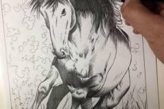 pintura-cavalo-galopando-na-agua-por-elton-brunetti-1