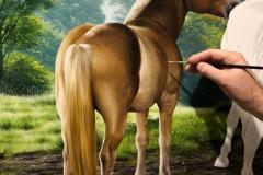 Cavalos-Haflinger-70-x-100-cm-por-Elton-Brunetti-Detalhes-02