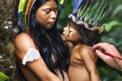 Pintura-Retrato-Indigena-Elton-Bruneti-08