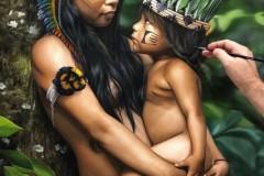 Pintura-Retrato-Indigena-Elton-Bruneti-09