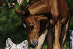 pintura-de-um-cavalo-com-cachorro-por-Elton-Brunetti-09