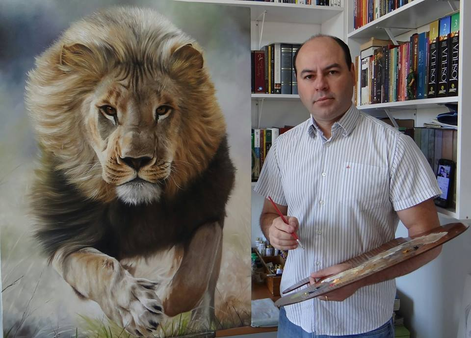 Artist Elton Brunetti Oil Painting